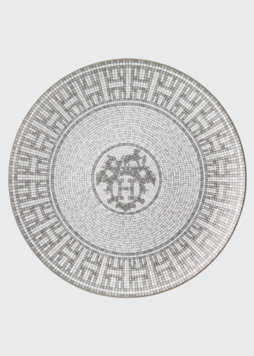 Hermès Mosaique au 24 Platinum Salad/Dessert Plate