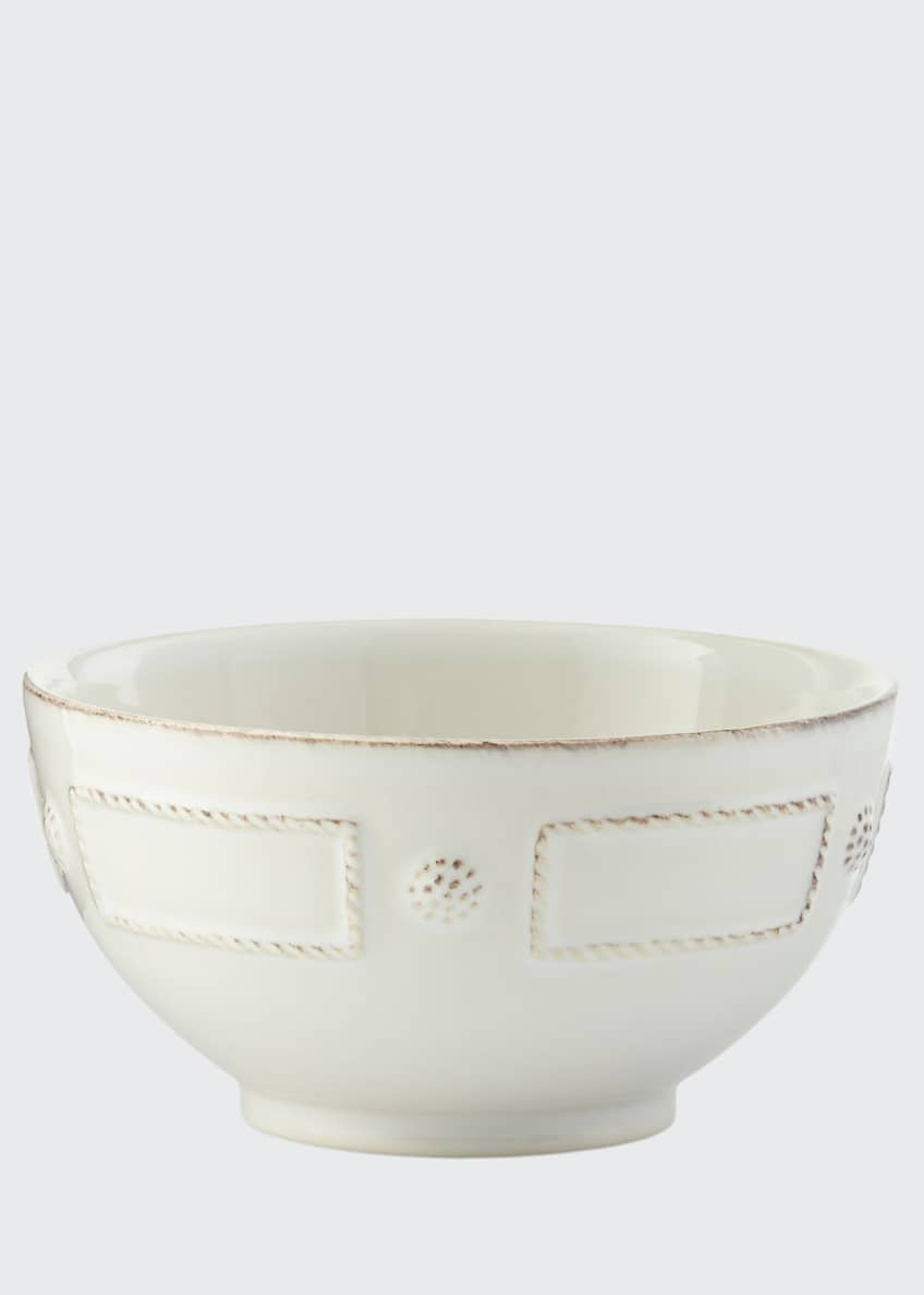 Image 1 of 1: Berry & Thread French Panel Whitewash Cereal/Ice Cream Bowl