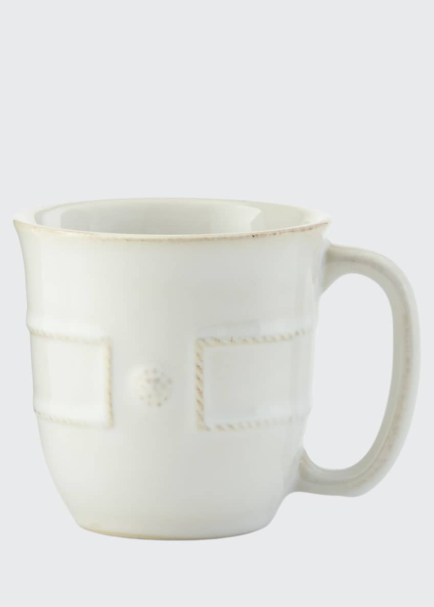 Image 1 of 2: Berry & Thread French Panel Whitewash Cofftea Cup