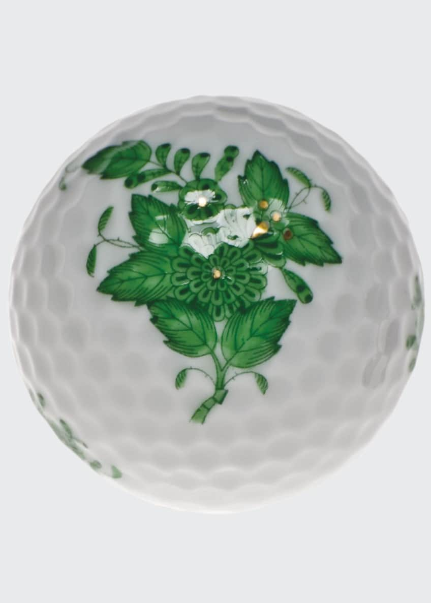 Image 1 of 1: Chinese Bouquet Green Golf Ball