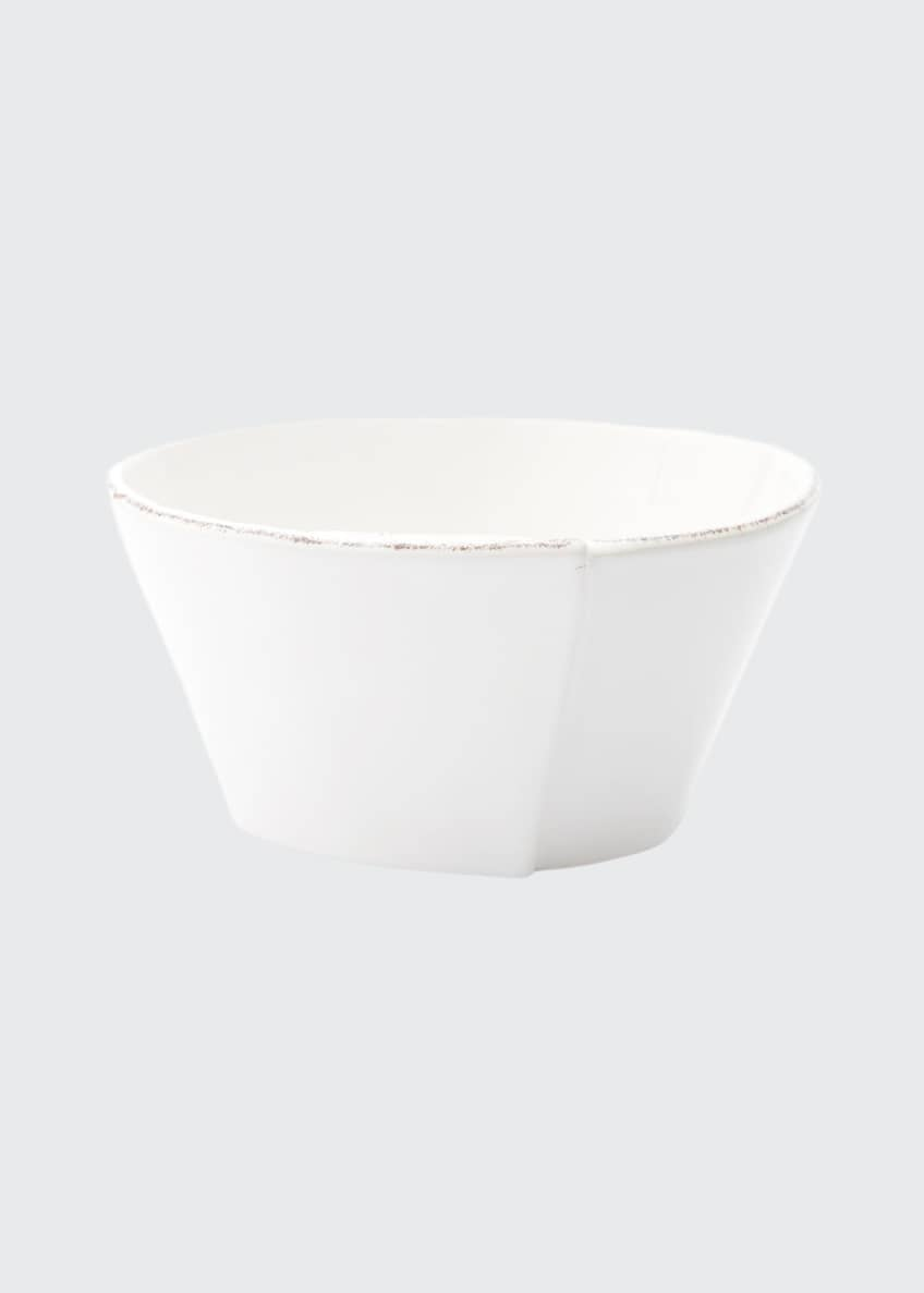 Image 1 of 1: Lastra Stacking Cereal Bowl, White