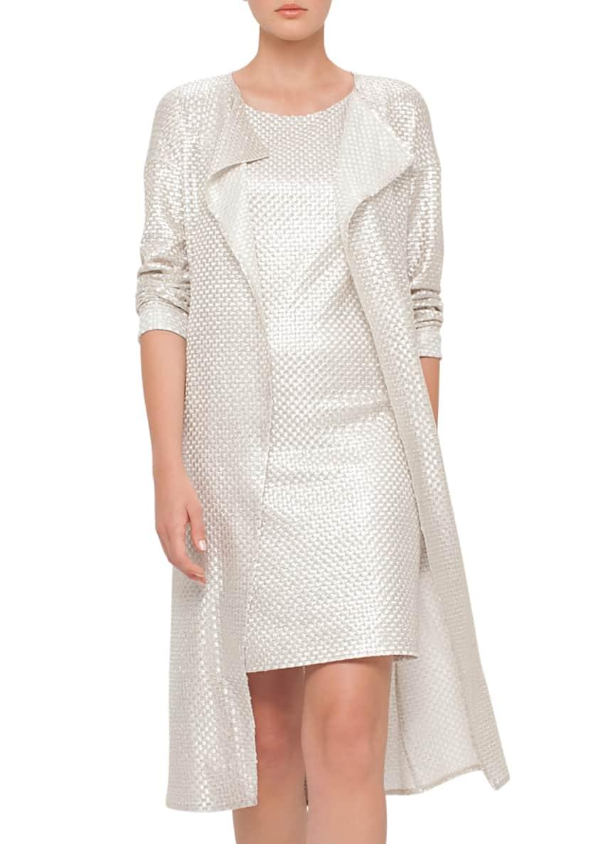 Akris Topper & Dress & Matching Items
