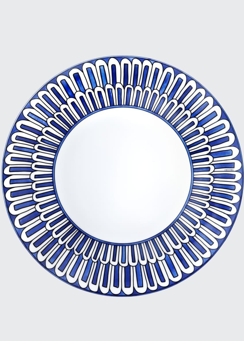 Hermès Bleus d'Ailleurs Dessert/Salad Plate