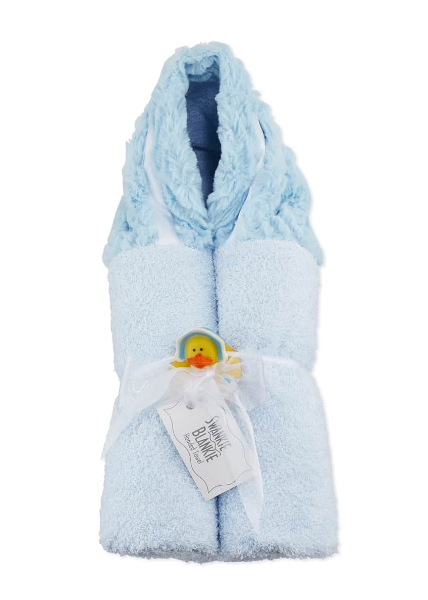 Image 1 of 2: Ziggy Hooded Towel, Blue