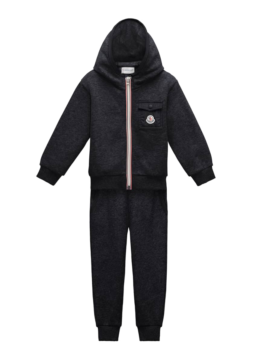 Moncler Hooded Jacket w/ Pants & Matching Items