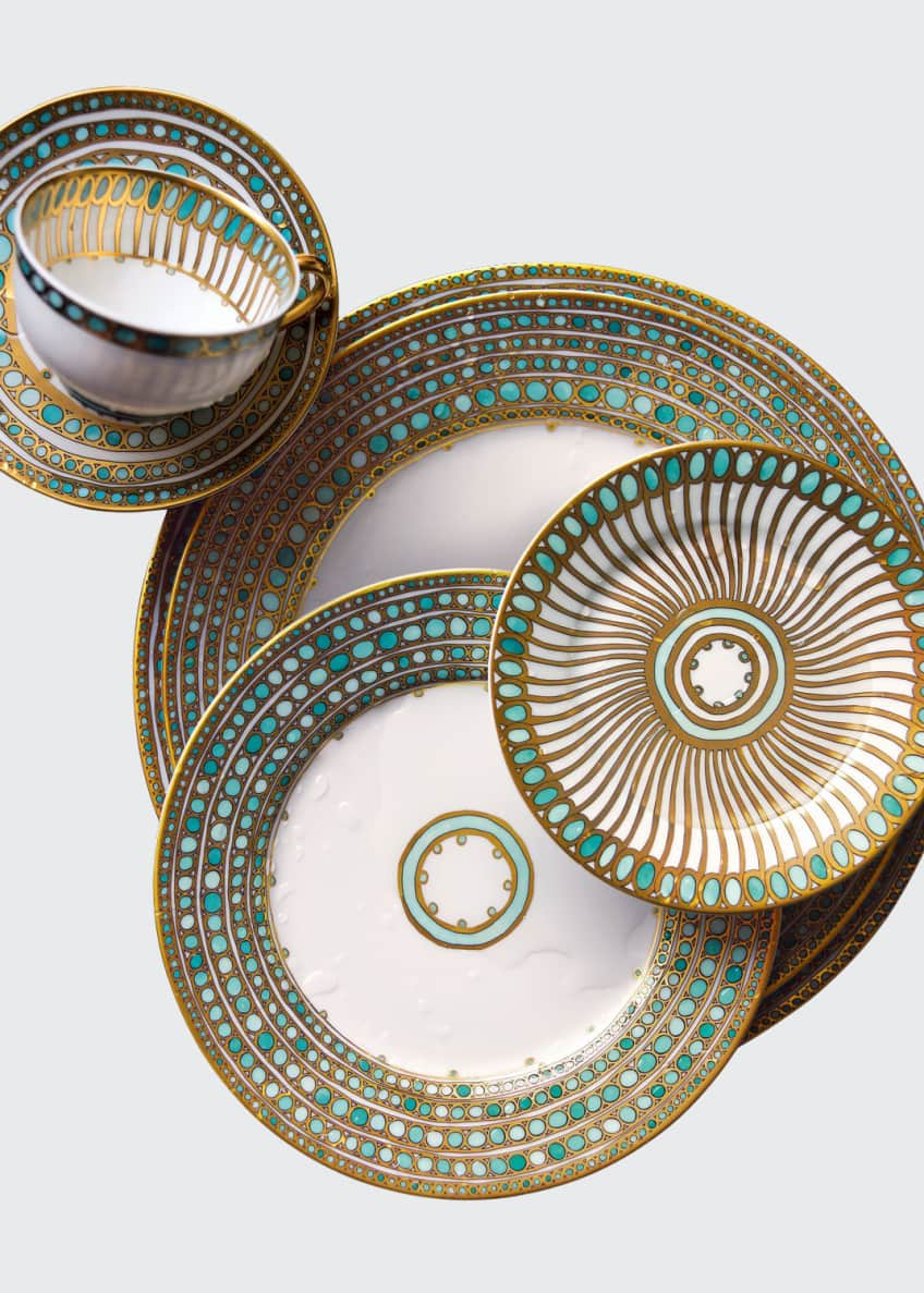 Image 1 of 1: Syracuse Turquoise Cup and Saucer