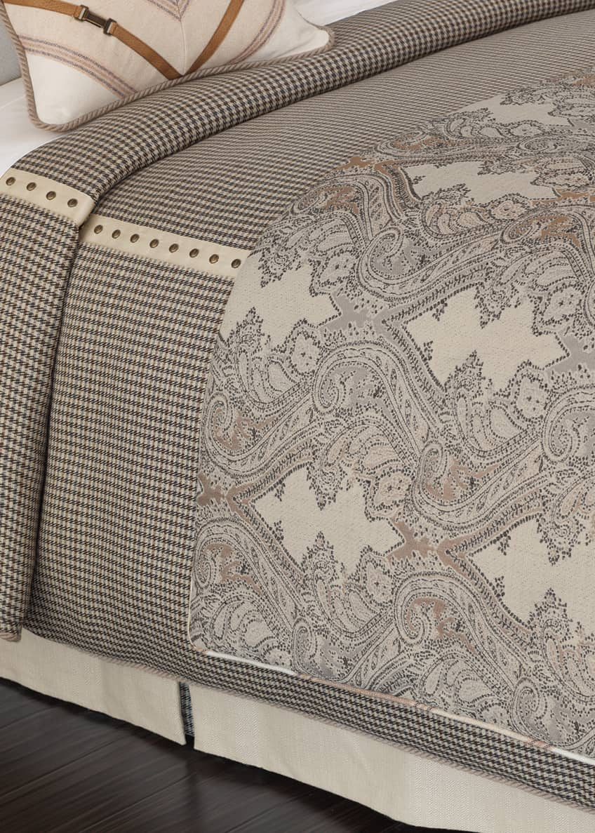 Image 1 of 1: Oversized King Woodside Duvet Cover