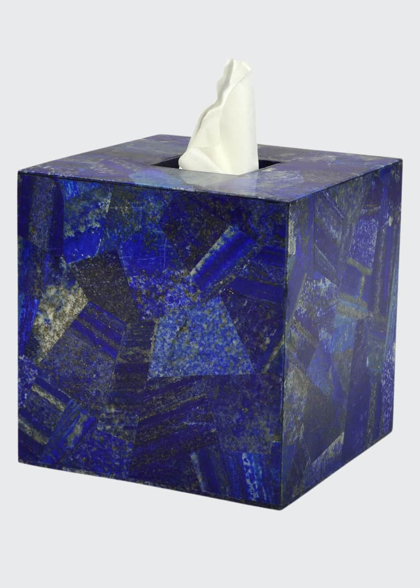 Image 1 of 1: Taj Lapis Tissue Box Cover