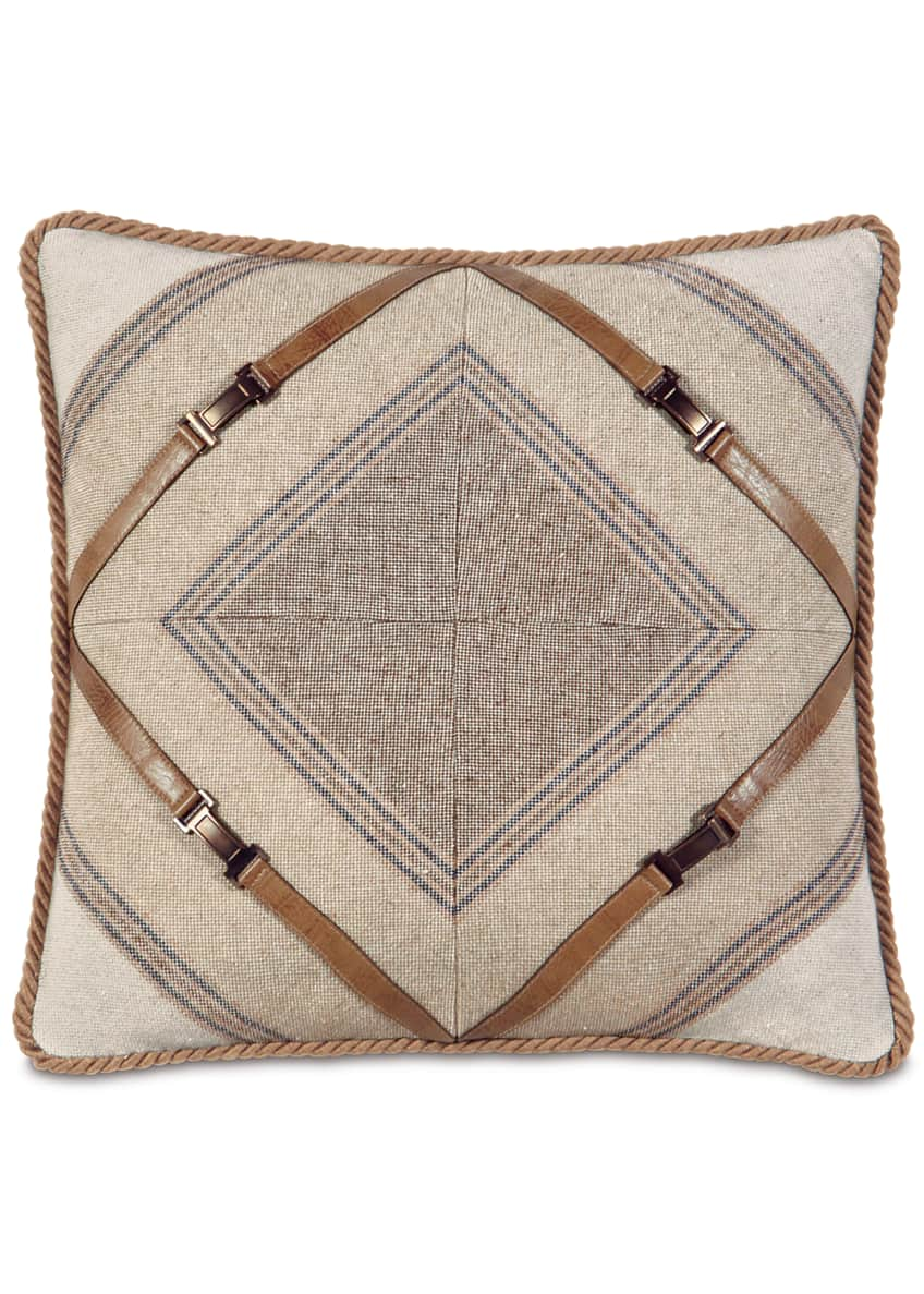Image 1 of 1: Mitered Ashbrooke Pillow
