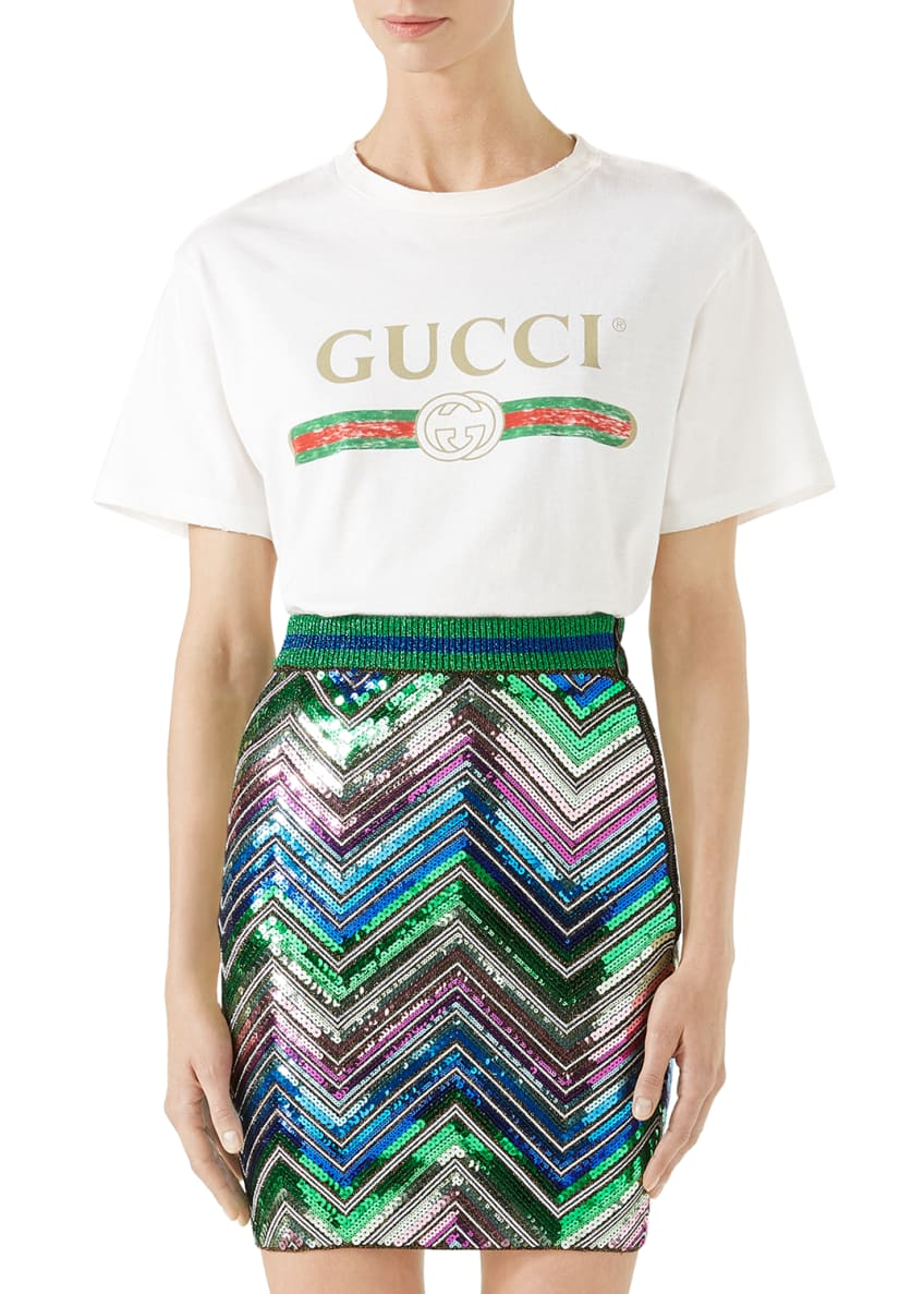 Gucci Gucci-Print Cotton Tee & Matching Items
