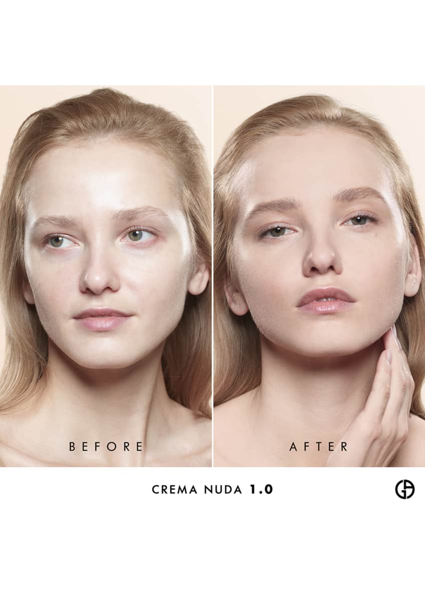 Image 4 of 5: Crema Nuda Supreme Glow Reviving Tinted Moisturizer, 1 oz./ 30 mL