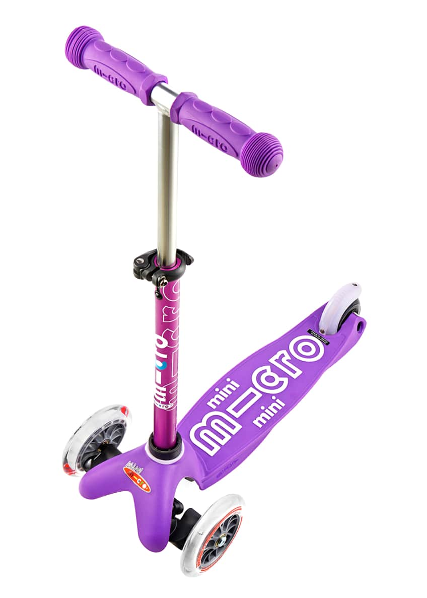 Image 2 of 2: Micro Mini Deluxe Kick Scooter, Purple, Ages 2-5