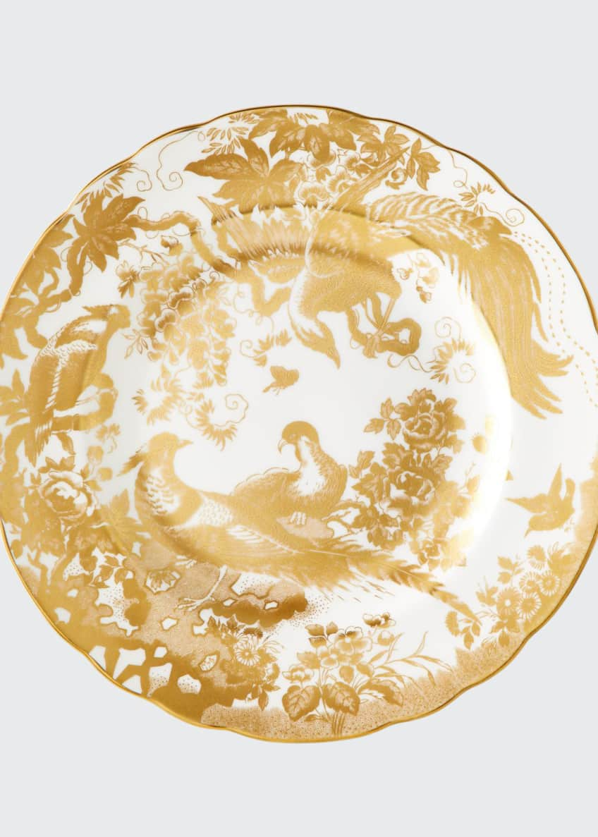 Image 1 of 1: Gold Aves Salad Plate