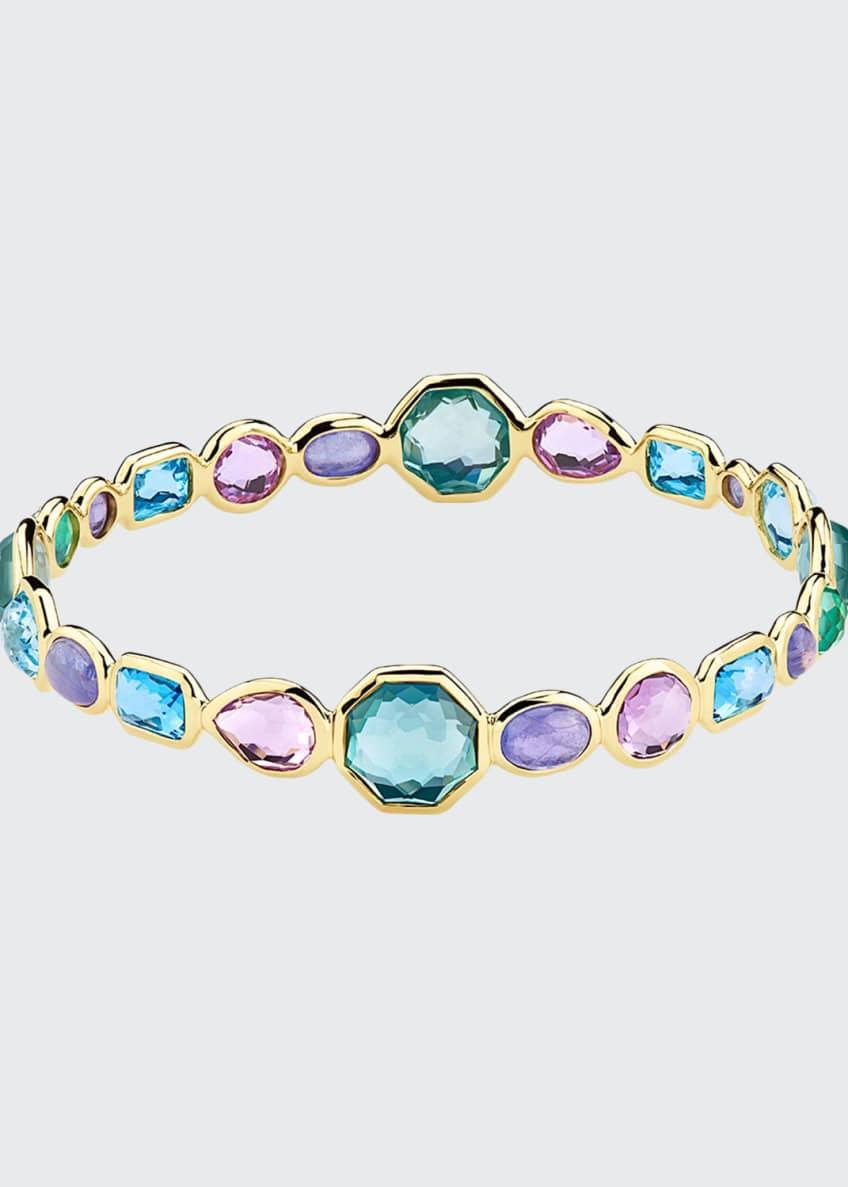 Ippolita 18k Gold Rock Candy Bangle Bracelet in