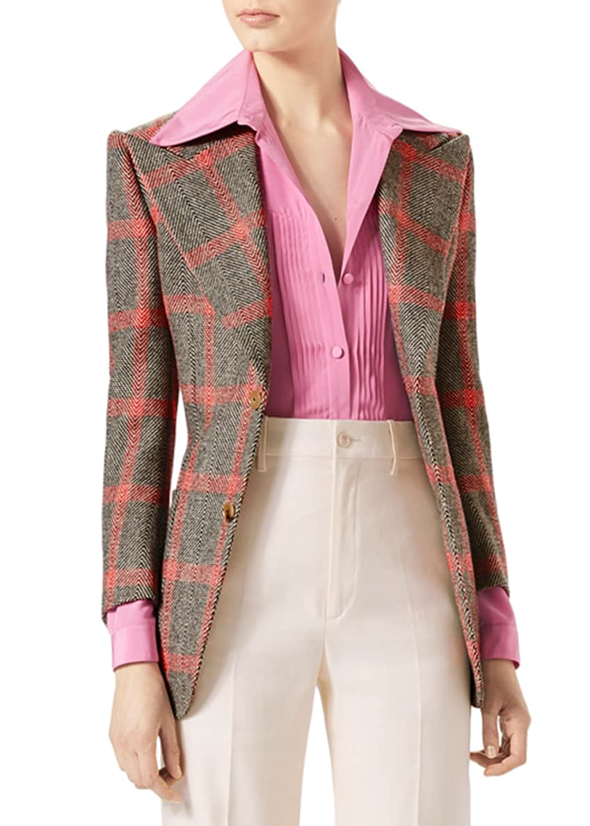 Gucci Hollywood Forever Check Jacket & Matching Items