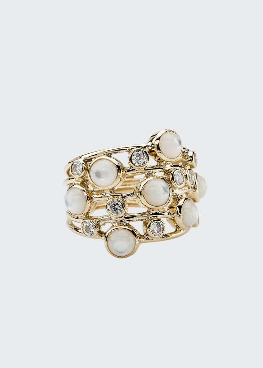 Ippolita Diamond & Mother-of-Pearl Ring