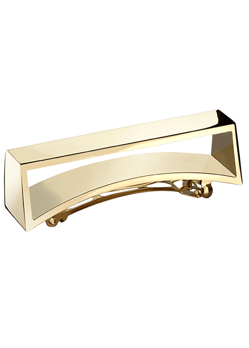 Oribe Geometric Gold Plated Metal Barrette - Bergdorf Goodman