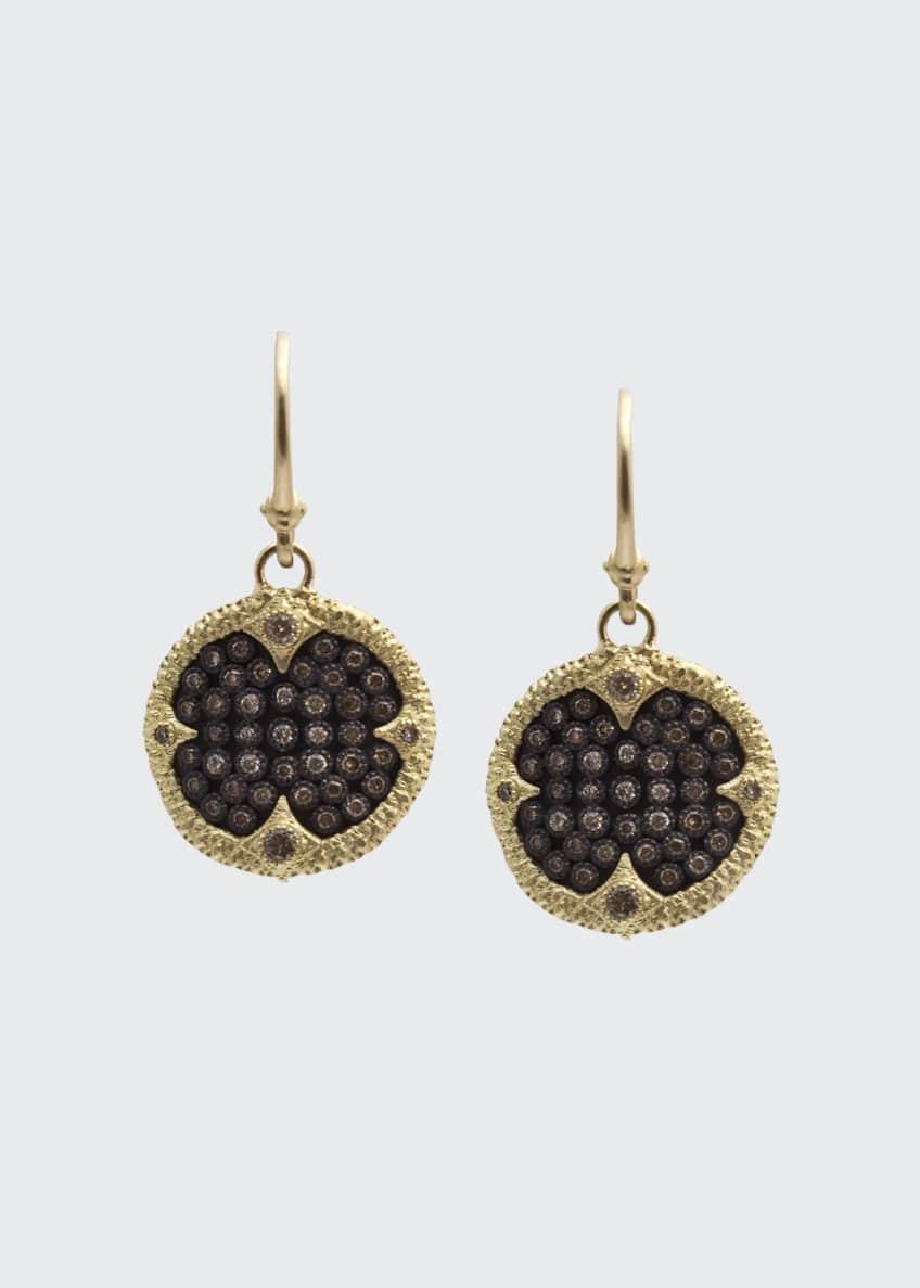 Armenta Old World Ombré Diamond Drop Earrings
