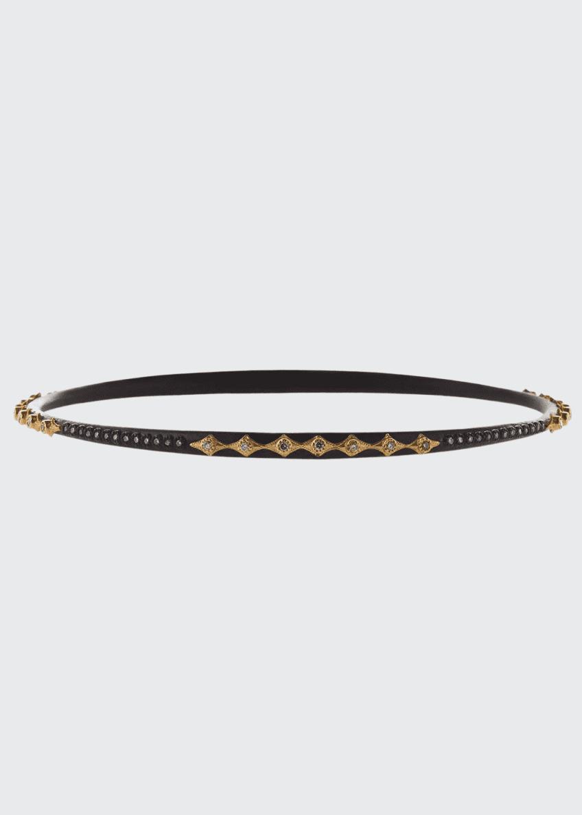 Armenta Old World Multi-Crivelli Bangle Bracelet with Diamonds