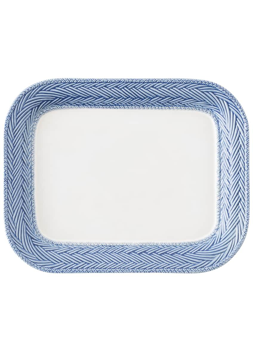 Juliska Le Panier White/Delft Blue Platter