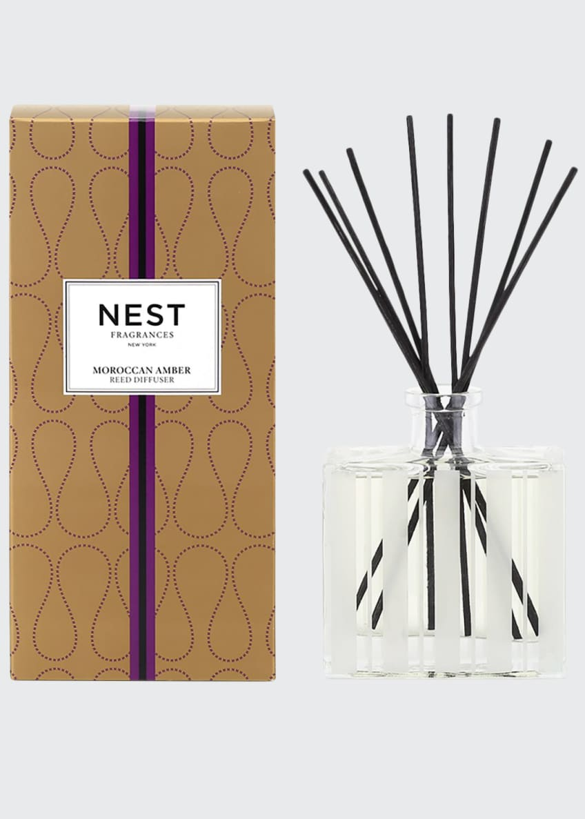 Nest Fragrances Moroccan Amber Reed Diffuser, 5.9 oz./