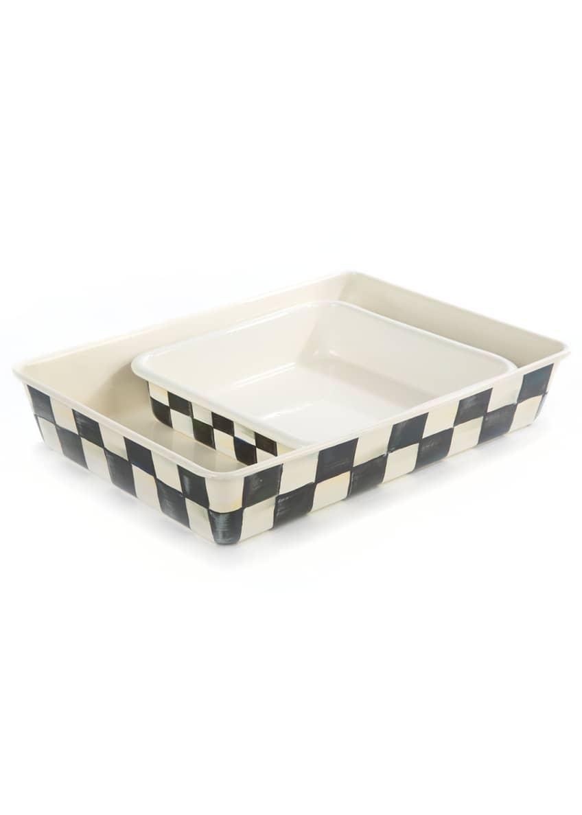 MacKenzie-Childs Courtly Check Baking Pan, Rectangular