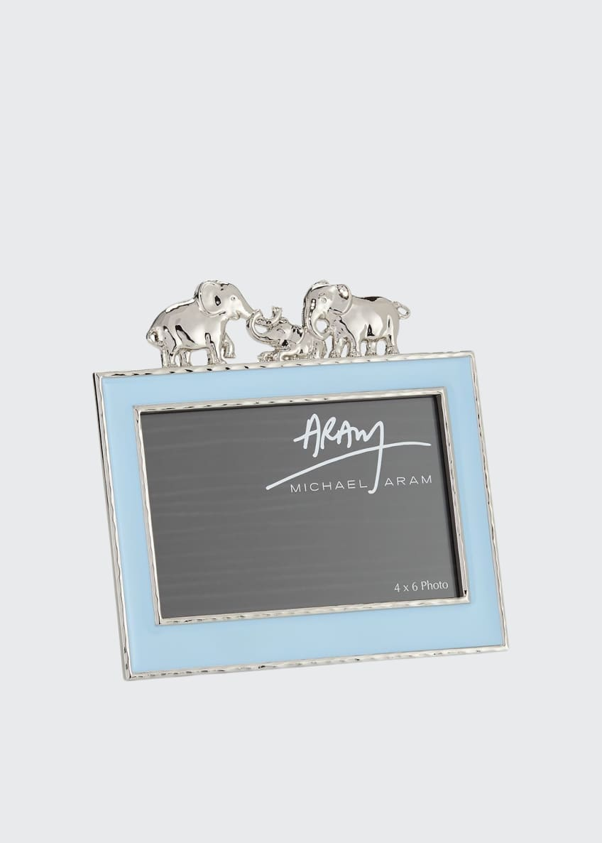 "Image 1 of 1: Boys' Elephant 4"" x 6"" Picture Frame, Blue"