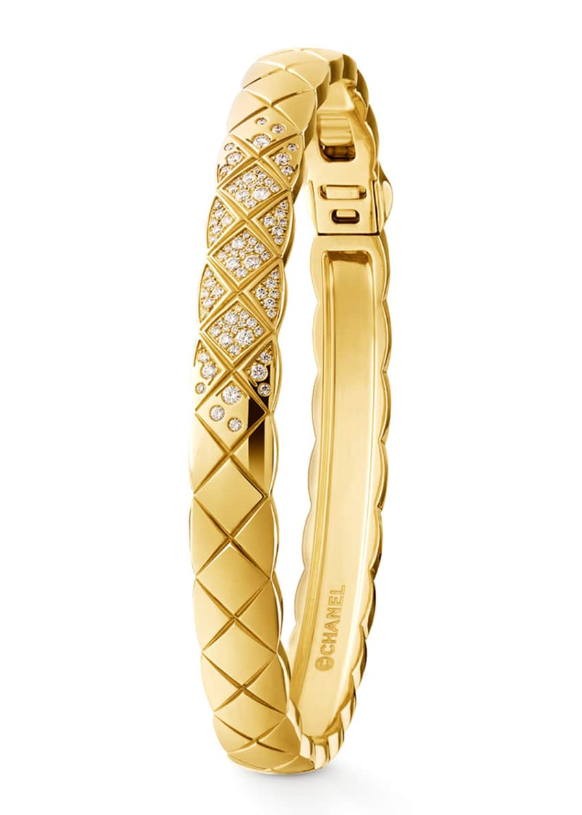 Image 1 of 1: COCO CRUSH BRACELET IN 18K YELLOW GOLD AND DIAMONDS