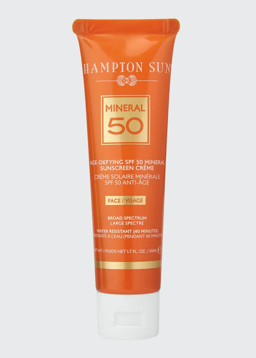 Hampton Sun Age-Defying Mineral Crème Sunscreen for FACE