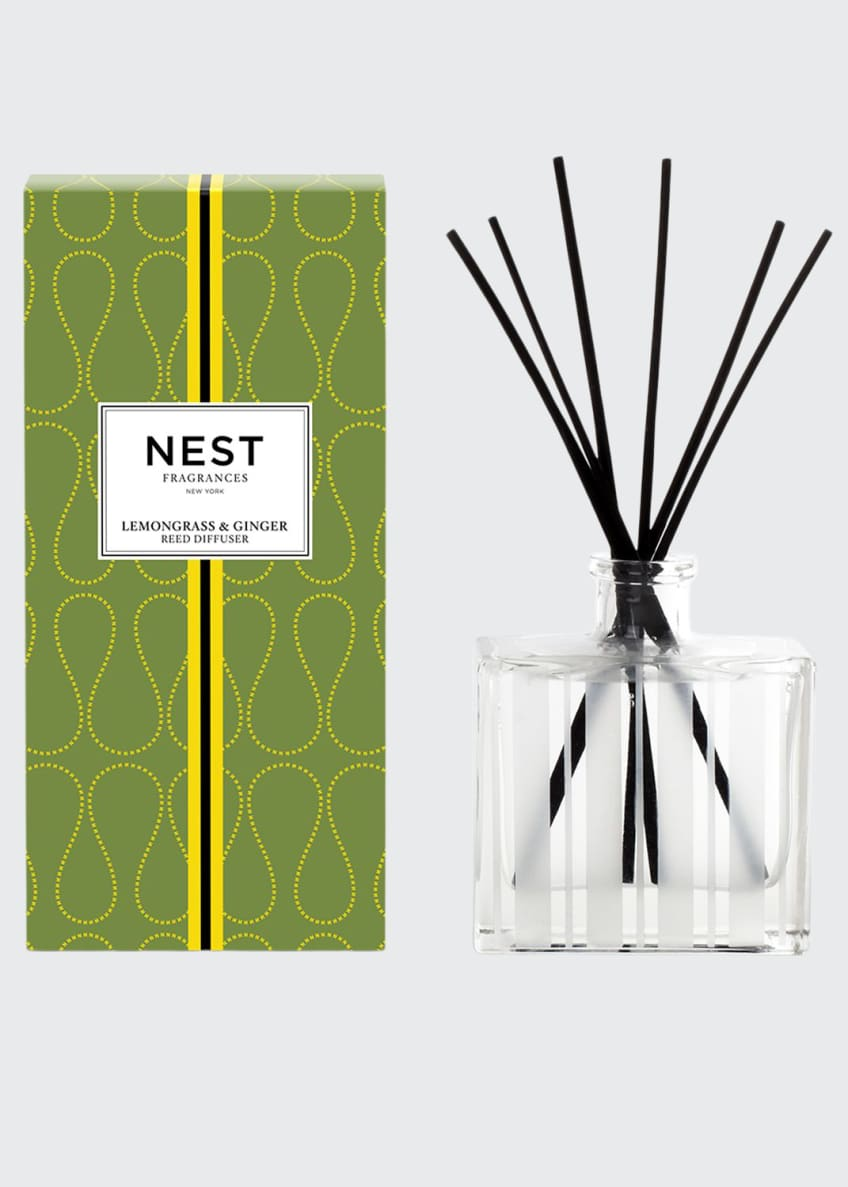 Image 1 of 1: Lemongrass & Ginger Reed Diffuser, 5.9 oz.