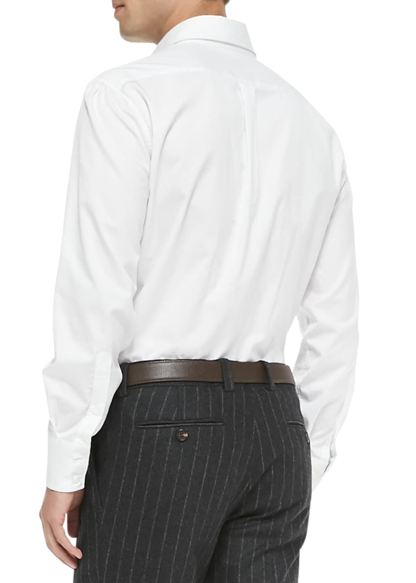 Image 2 of 2: Slim-Fit Button-Down Shirt