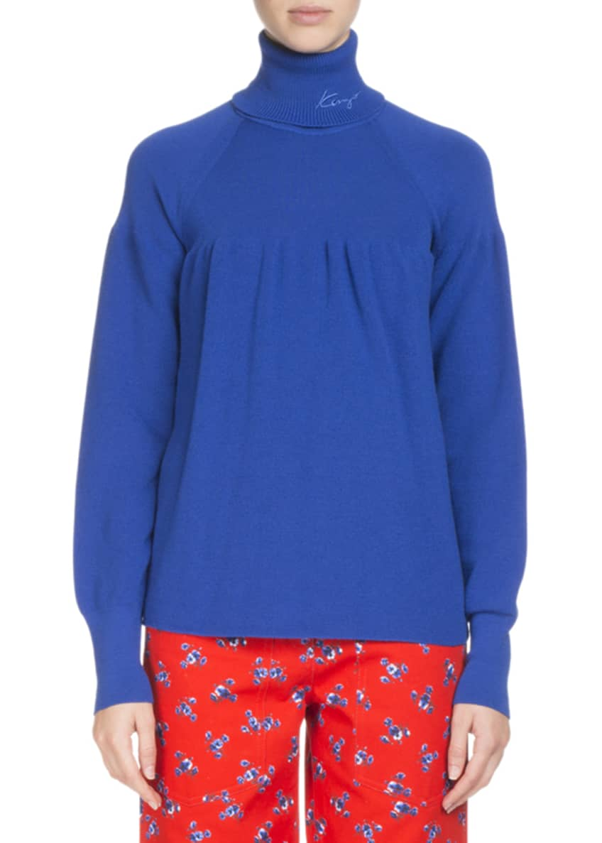 Kenzo Floral-Print Button-Front Trousers & Matching Items