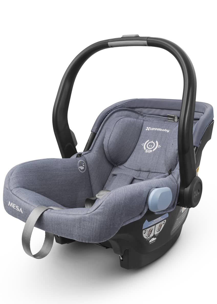 Image 2 of 4: MESA™ Infant Car Seat w/ Base, Light Blue