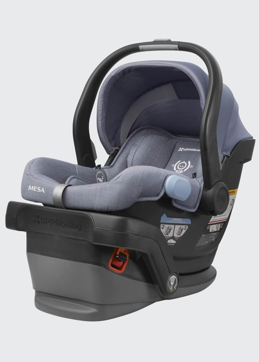 Image 1 of 4: MESA™ Infant Car Seat w/ Base, Light Blue