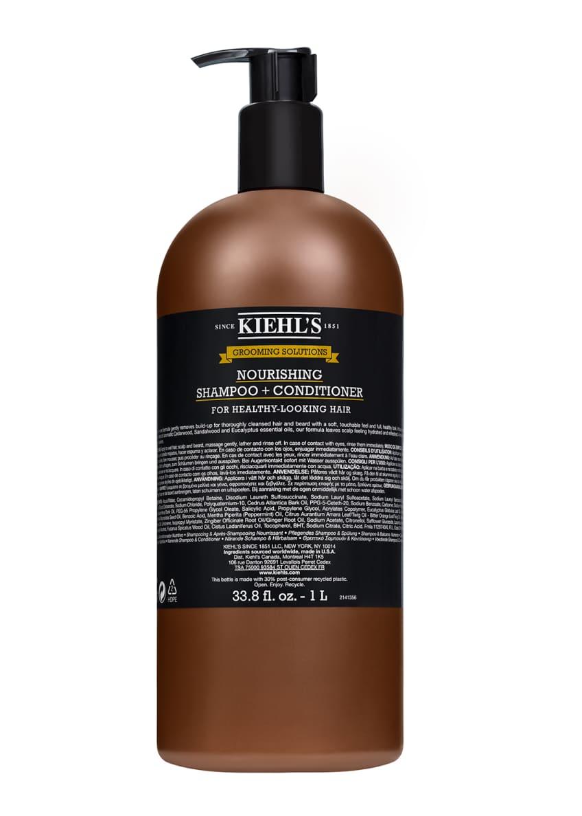 Kiehl's Since 1851 Healthy Hair Scalp Shampoo Conditioner,