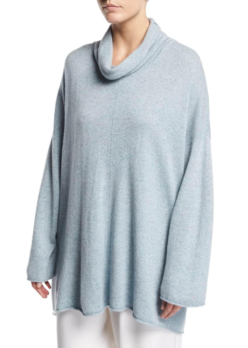 Eskandar Knit Cowl-Neck Monk's Top & Matching Items