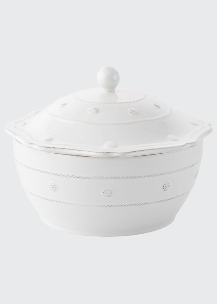 "Image 1 of 1: Berry & Thread Whitewash 9.5"" Covered Casserole"