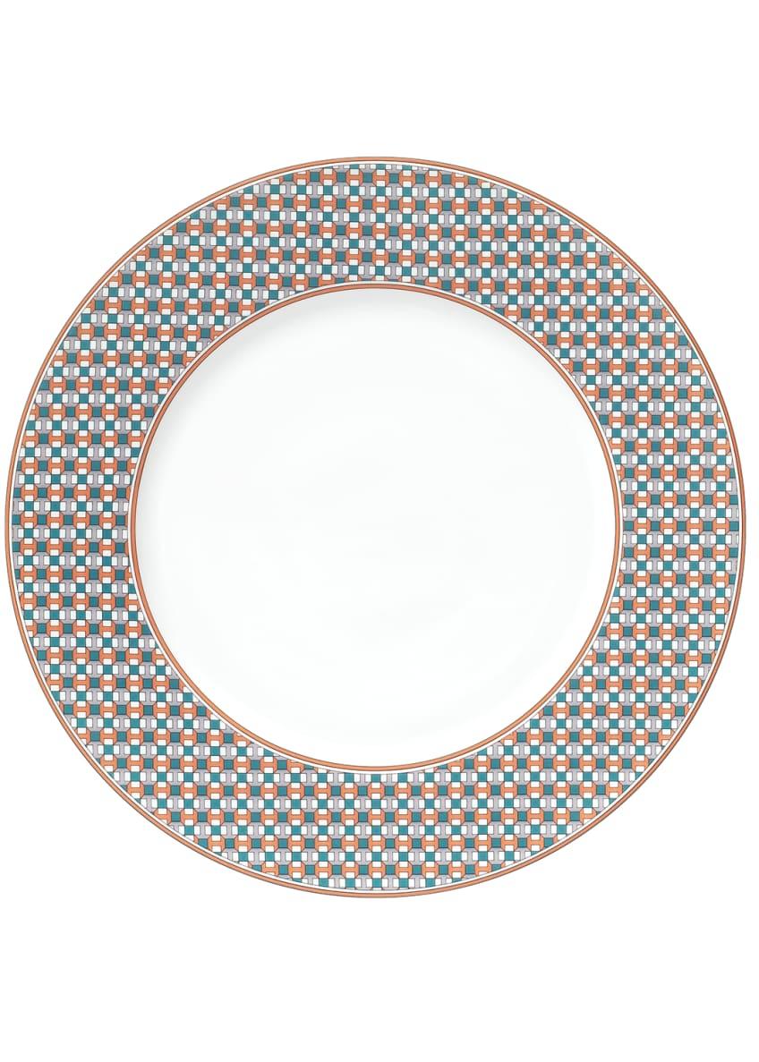 Hermès Tie Set Dessert Plate - Pavage