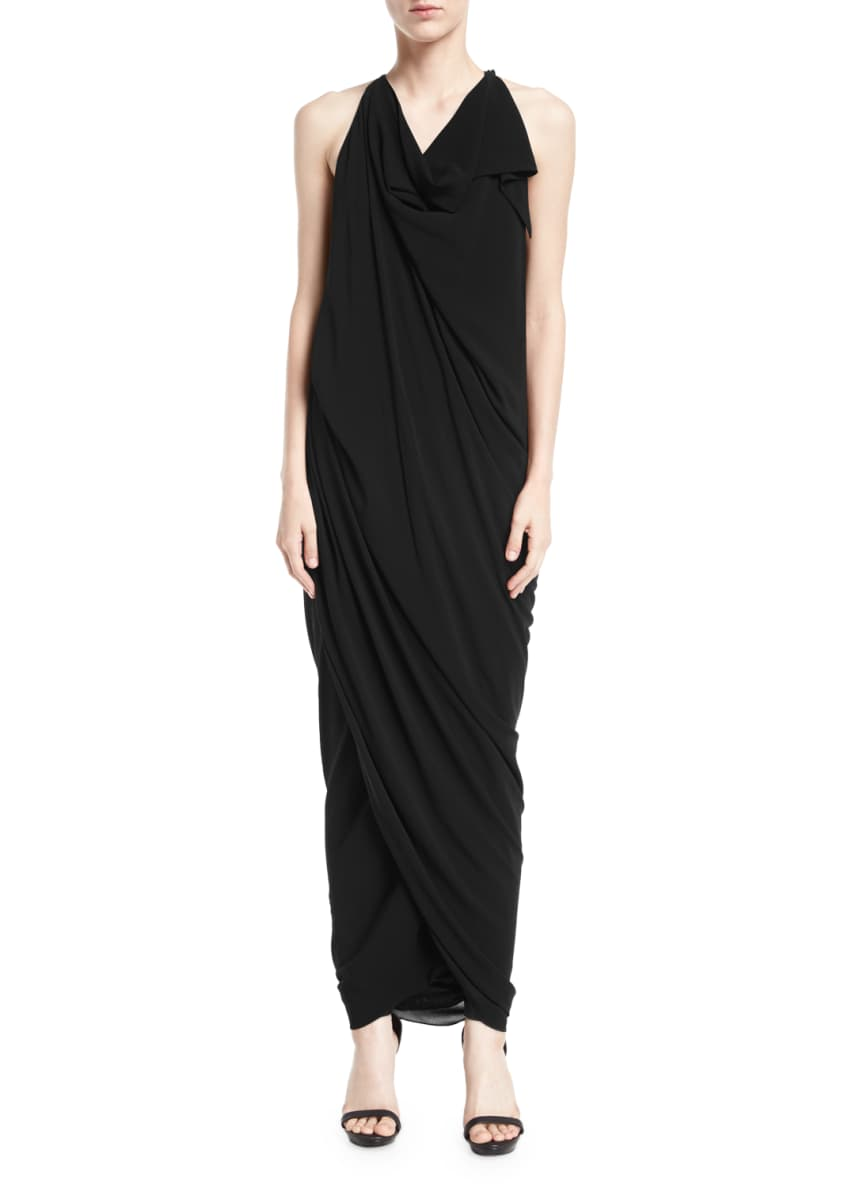 Urban Zen Convertible Draped Jersey Maxi Dress &