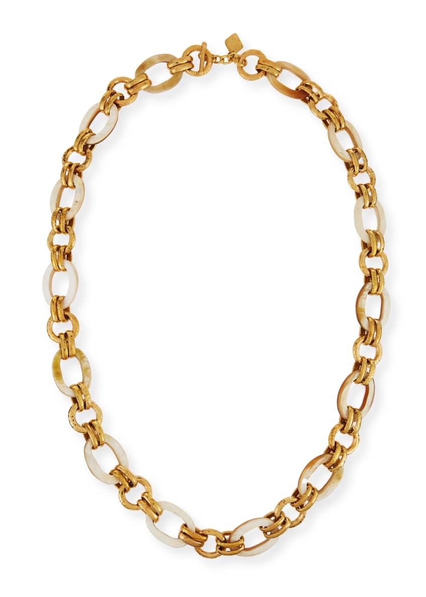 Ashley Pittman Ikulu Light Horn & Bronze Link
