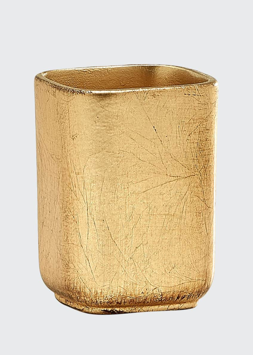 Image 1 of 1: Ava Toothbrush Holder, Gold