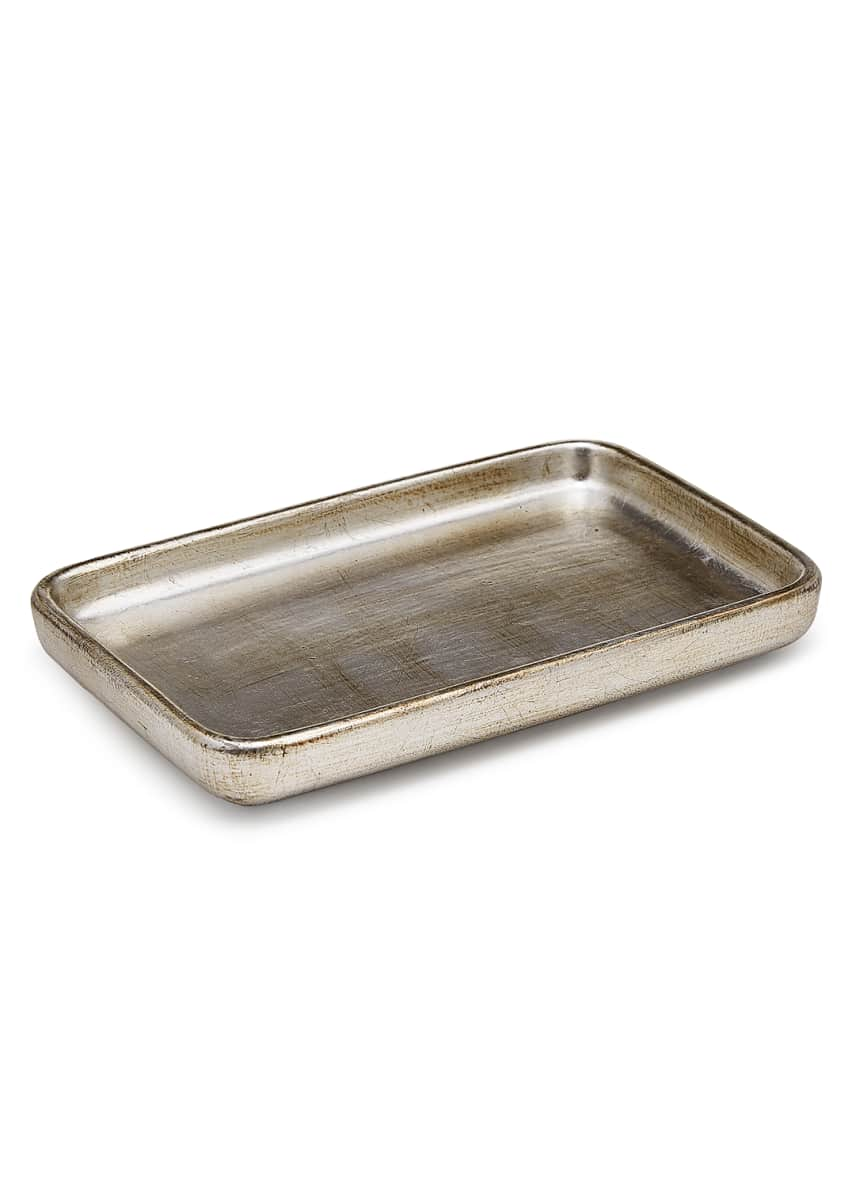 Image 1 of 2: Ava Amenity Tray, Silver