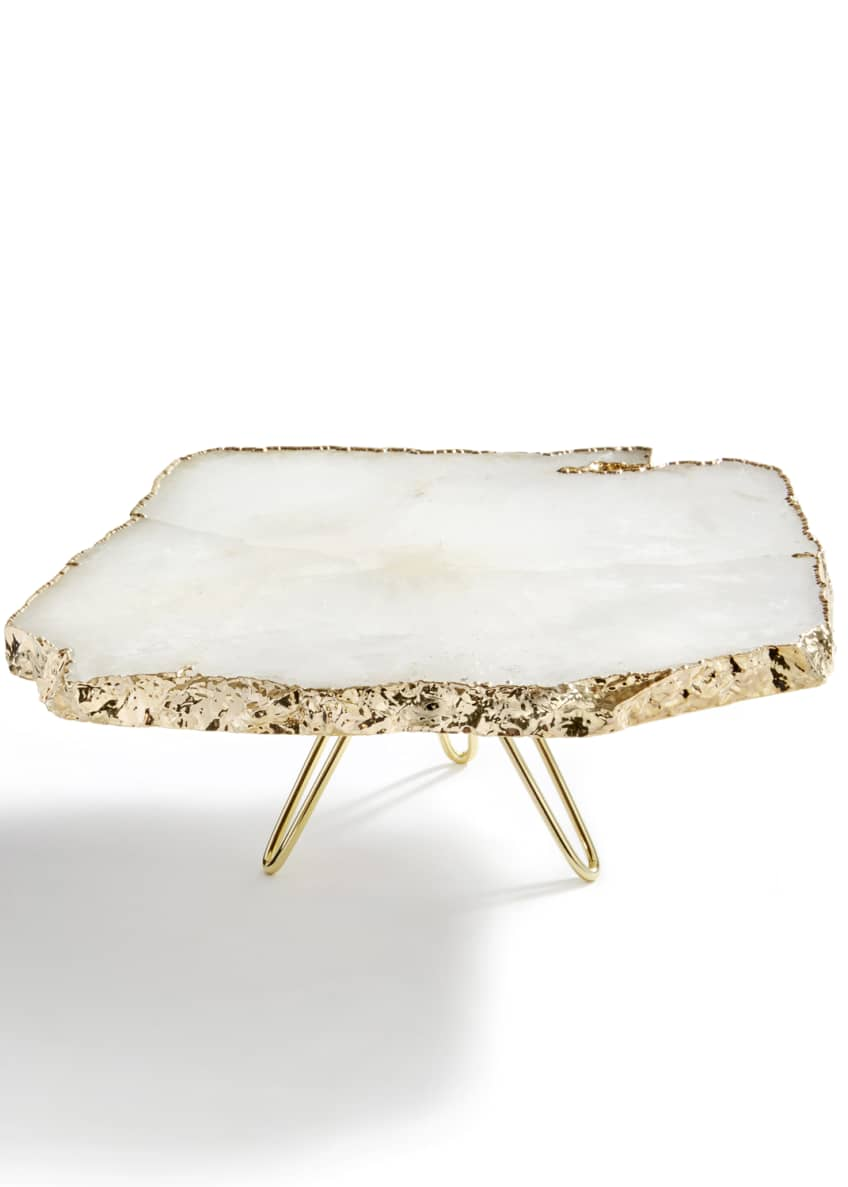 ANNA New York Torta Gold-Plated Cake Stand