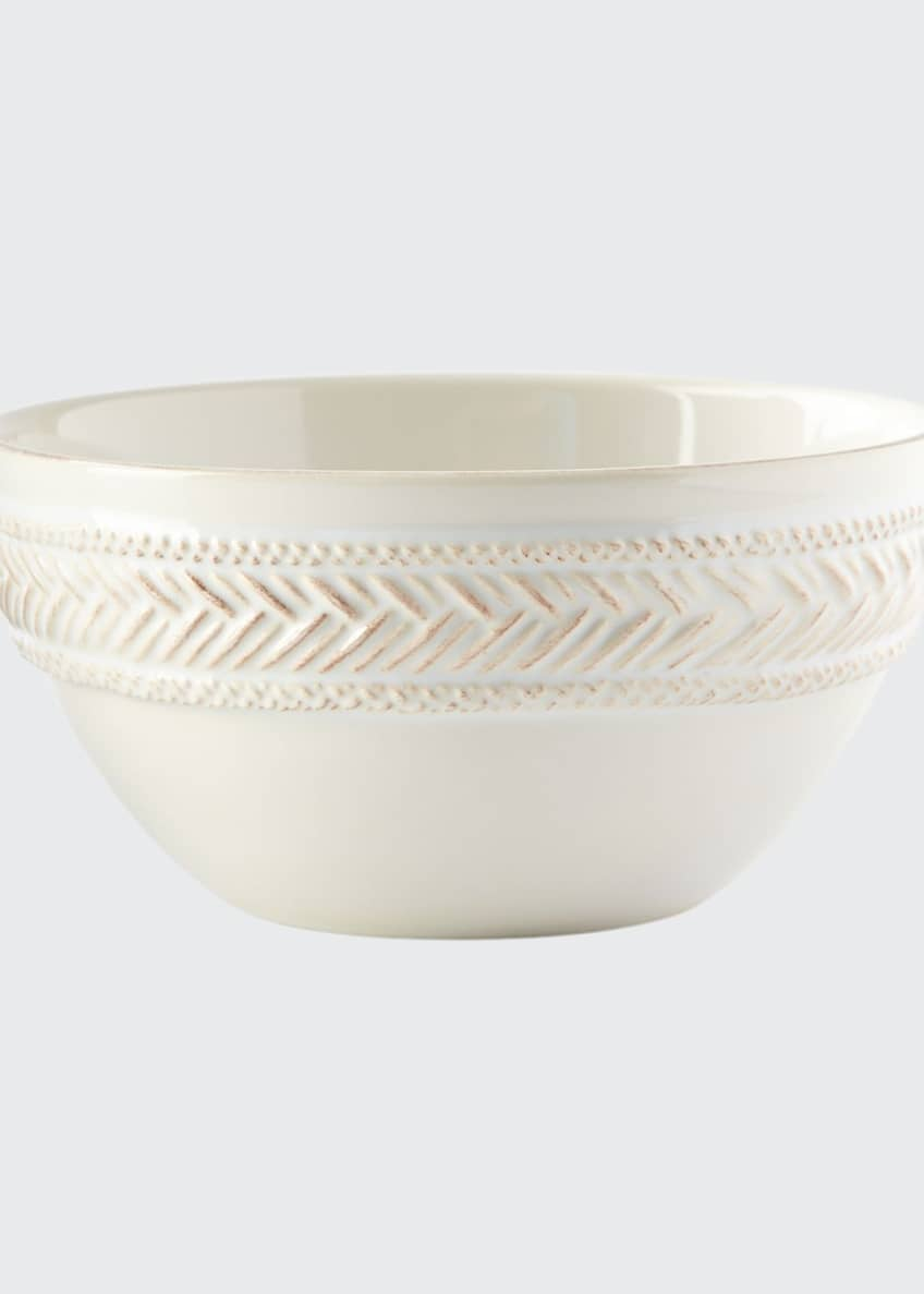 Juliska Le Panier Whitewash Cereal/Ice Cream Bowl