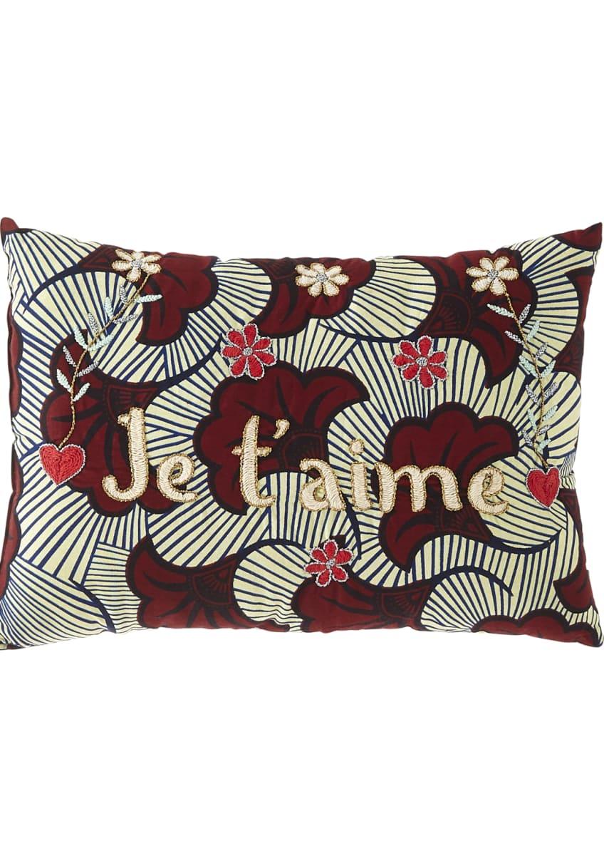 CSAO Je Taime Pillow