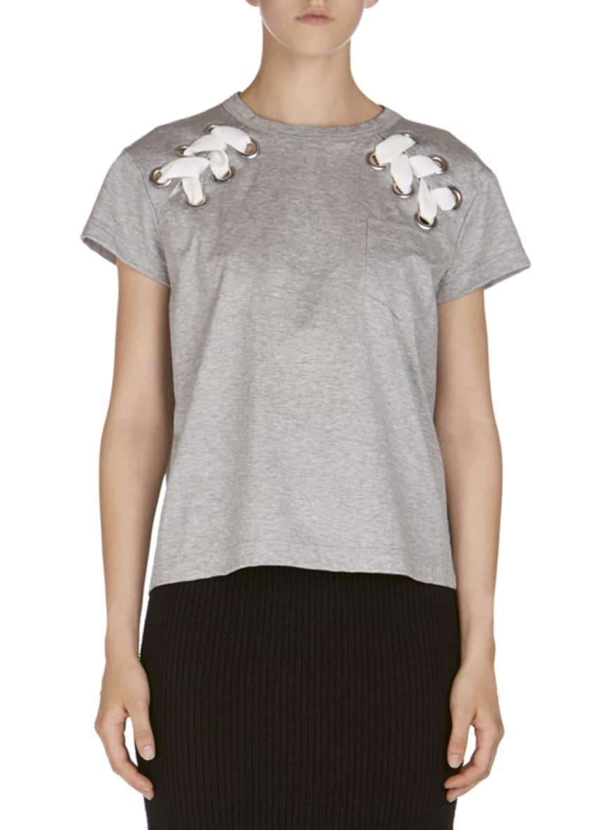 SACAI Flared Braid-Knit Skirt & Matching Items
