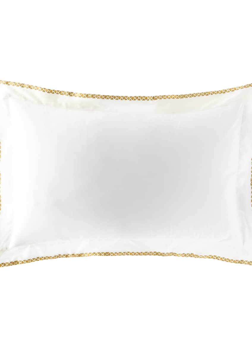 Image 1 of 1: New Gold King Sham, Set of Two