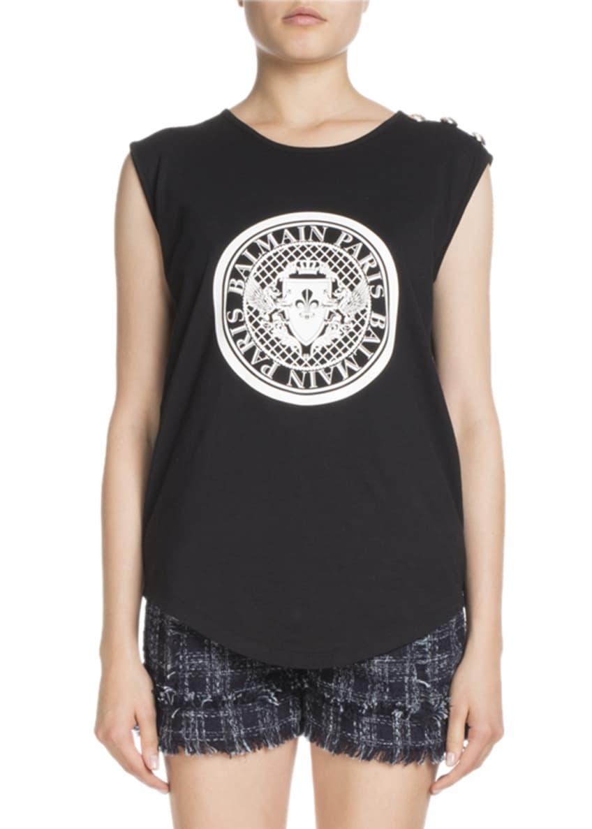 Balmain Fringed Leather Chain-Trim Skirt & Matching Items