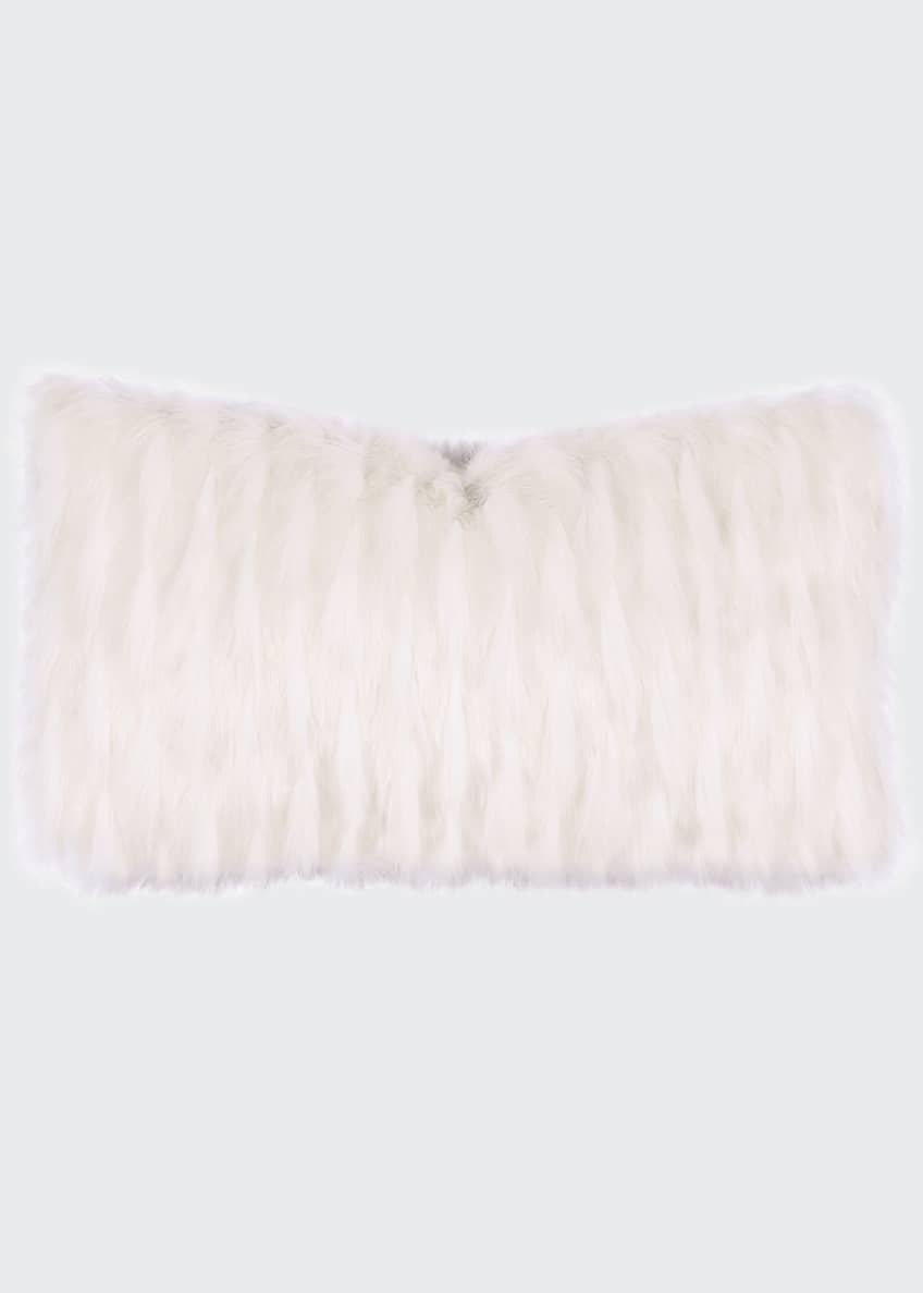 Image 1 of 1: Luxe Rectangle Decorative Pillow