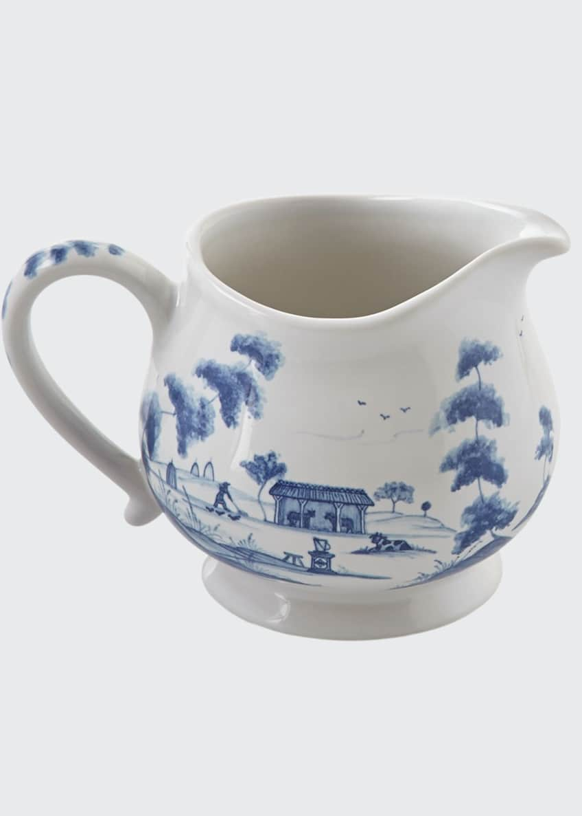 Image 1 of 1: Country Estate Delft Blue Creamer Main House